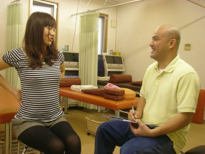 きちんと患者さんの話を聞き、丁寧な説明をいたします。