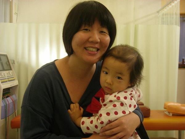施術中は先生の奥様に子供を見ていただけるので助かります。 乗附有紀さん (32歳、府中市天神町在住)