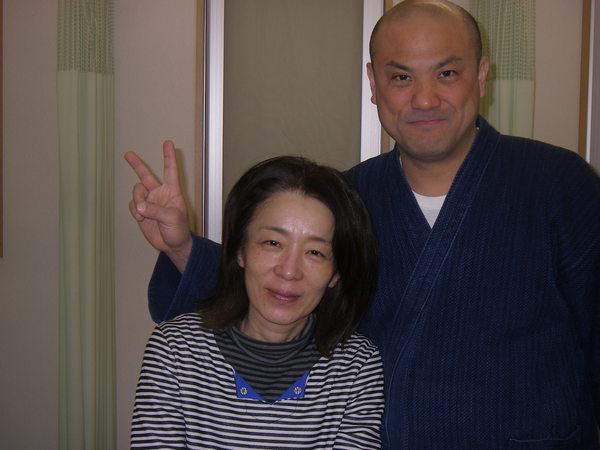 痛くない治療なのに今では良くなってきている体にびっくりしています。 鈴木ゆりえさん(54歳、府中市浅間町在住)