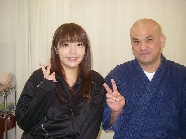 魔法の様に痛みが無くなりました(о´∀`о) 相馬麻紀子さん(35歳、府中市紅葉丘在住)