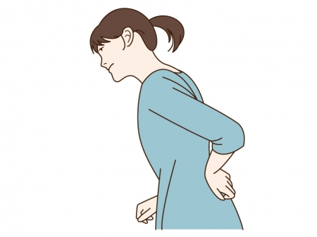 女性の臀部(おしり)の痛み、シビレ、坐骨神経痛の根本原因とは?