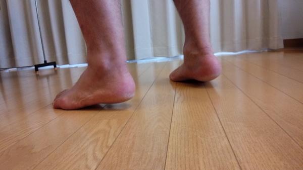 【動画】アキレス腱断裂から2カ月弱でつま先立ちが出来るようになりました。