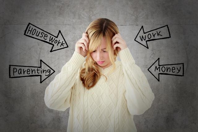 女性ホルモンの乱れ、ストレス