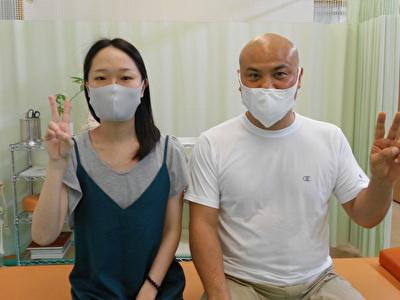 1回目の施術で胃の不調や下腹部の張りが改善されました。